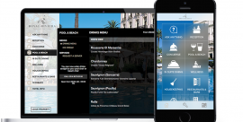 Your new personal hotel assistant at the Royal-Riviera: Alice-App