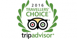Travellers' Choice Award 2016
