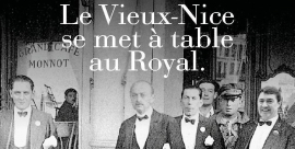 Le Vieux-Nice se met à table au Royal
