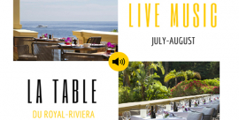 Summer Live Music shows at la Table du Royal
