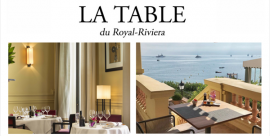 L'automne à la Table du Royal