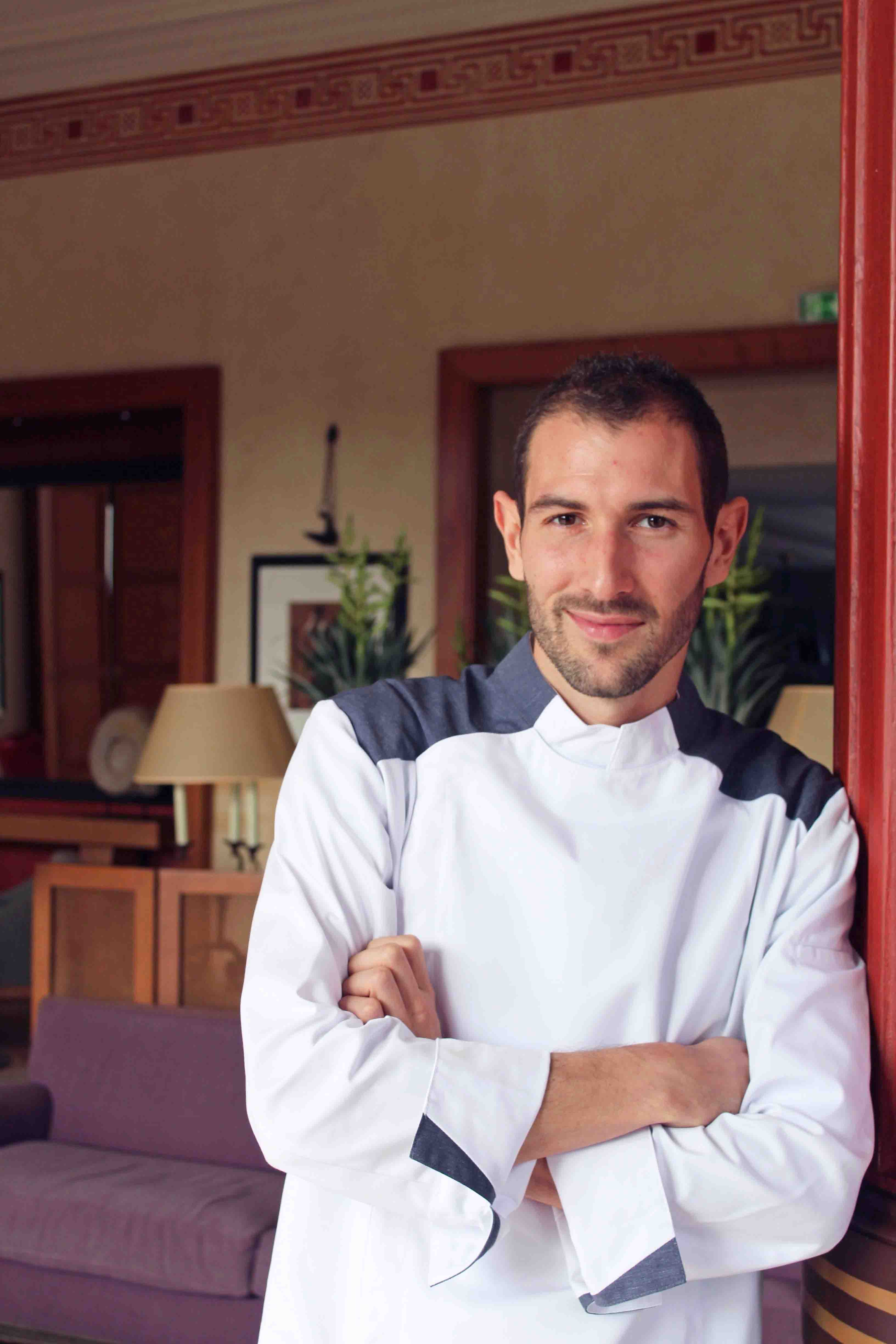 Chef Executif du Royal-Riviera Anthony Cadei
